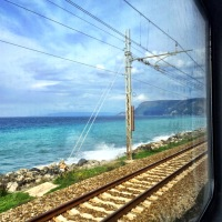 The train from Naples to Palermo with toddlers